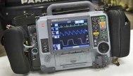 Lifepak 15 defibrillator used in the UK